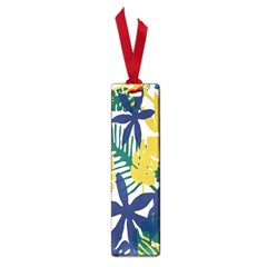 Tropics Leaf Yellow Green Blue Small Book Marks by Mariart