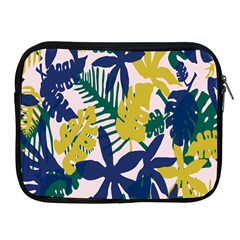 Tropics Leaf Yellow Green Blue Apple Ipad 2/3/4 Zipper Cases by Mariart