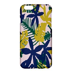 Tropics Leaf Yellow Green Blue Apple Iphone 6 Plus/6s Plus Hardshell Case by Mariart
