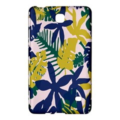 Tropics Leaf Yellow Green Blue Samsung Galaxy Tab 4 (7 ) Hardshell Case  by Mariart