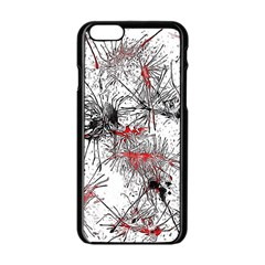 Color Fun 03d Apple Iphone 6/6s Black Enamel Case by MoreColorsinLife