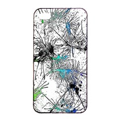 Color Fun 03f Apple Iphone 4/4s Seamless Case (black) by MoreColorsinLife