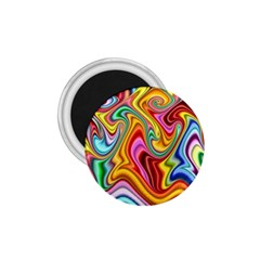 Rainbow Gnarls 1 75  Magnets by WolfepawFractals
