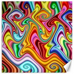Rainbow Gnarls Canvas 20  X 20   by WolfepawFractals