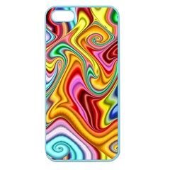 Rainbow Gnarls Apple Seamless Iphone 5 Case (color) by WolfepawFractals