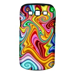 Rainbow Gnarls Samsung Galaxy S Iii Classic Hardshell Case (pc+silicone) by WolfepawFractals