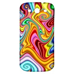 Rainbow Gnarls Samsung Galaxy S3 S Iii Classic Hardshell Back Case by WolfepawFractals