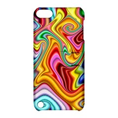 Rainbow Gnarls Apple Ipod Touch 5 Hardshell Case With Stand by WolfepawFractals