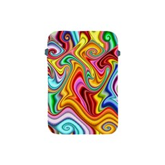 Rainbow Gnarls Apple Ipad Mini Protective Soft Cases by WolfepawFractals