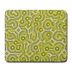 Broken Pattern D Large Mousepads by MoreColorsinLife