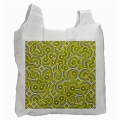 Broken Pattern D Recycle Bag (two Side)  by MoreColorsinLife