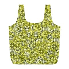 Broken Pattern D Full Print Recycle Bags (l)  by MoreColorsinLife