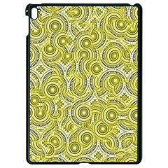 Broken Pattern D Apple Ipad Pro 9 7   Black Seamless Case by MoreColorsinLife