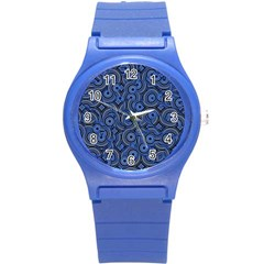 Broken Pattern C Round Plastic Sport Watch (s) by MoreColorsinLife