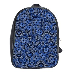 Broken Pattern C School Bags (xl)  by MoreColorsinLife
