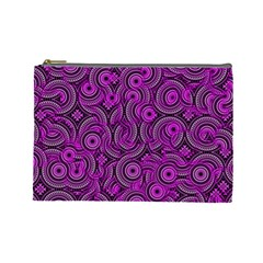 Broken Pattern B Cosmetic Bag (large)  by MoreColorsinLife