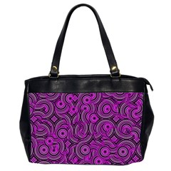 Broken Pattern B Office Handbags (2 Sides)  by MoreColorsinLife