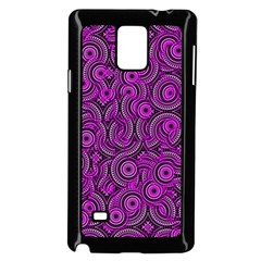 Broken Pattern B Samsung Galaxy Note 4 Case (black) by MoreColorsinLife