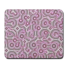 Broken Pattern E Large Mousepads by MoreColorsinLife