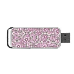 Broken Pattern E Portable Usb Flash (two Sides) by MoreColorsinLife