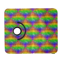 Painted Rainbow Pattern Galaxy S3 (flip/folio)