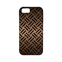 Woven2 Black Marble & Bronze Metal (r) Apple Iphone 5 Classic Hardshell Case (pc+silicone) by trendistuff
