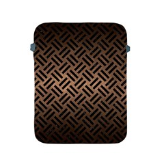 Woven2 Black Marble & Bronze Metal (r) Apple Ipad 2/3/4 Protective Soft Case by trendistuff