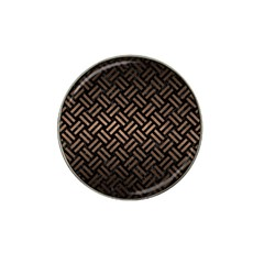 Woven2 Black Marble & Bronze Metal Hat Clip Ball Marker (10 Pack) by trendistuff