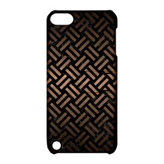 Woven2 Black Marble & Bronze Metal Apple Ipod Touch 5 Hardshell Case With Stand by trendistuff