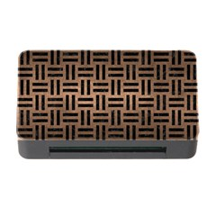 Woven1 Black Marble & Bronze Metal (r) Memory Card Reader With Cf by trendistuff
