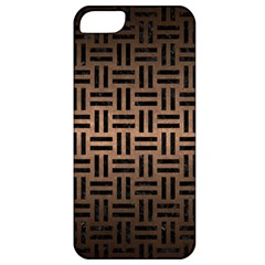 Woven1 Black Marble & Bronze Metal (r) Apple Iphone 5 Classic Hardshell Case by trendistuff