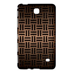 Woven1 Black Marble & Bronze Metal (r) Samsung Galaxy Tab 4 (7 ) Hardshell Case  by trendistuff