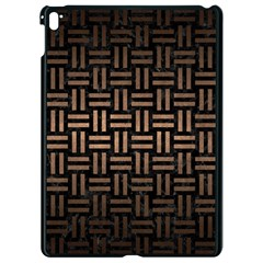 Woven1 Black Marble & Bronze Metal Apple Ipad Pro 9 7   Black Seamless Case