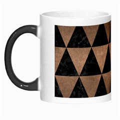 Triangle3 Black Marble & Bronze Metal Morph Mug by trendistuff