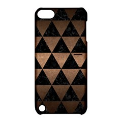 Triangle3 Black Marble & Bronze Metal Apple Ipod Touch 5 Hardshell Case With Stand by trendistuff