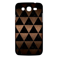 Triangle3 Black Marble & Bronze Metal Samsung Galaxy Mega 5 8 I9152 Hardshell Case  by trendistuff