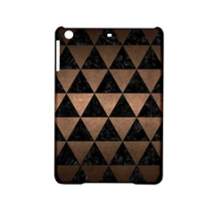 Triangle3 Black Marble & Bronze Metal Apple Ipad Mini 2 Hardshell Case by trendistuff