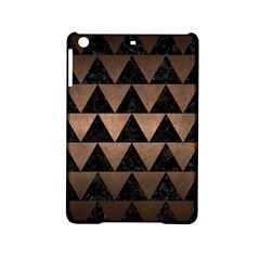 Triangle2 Black Marble & Bronze Metal Apple Ipad Mini 2 Hardshell Case