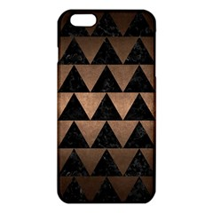 Triangle2 Black Marble & Bronze Metal Iphone 6 Plus/6s Plus Tpu Case by trendistuff