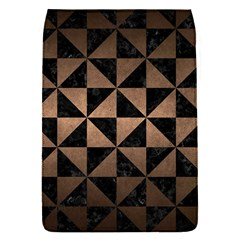 Triangle1 Black Marble & Bronze Metal Removable Flap Cover (s) by trendistuff