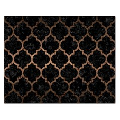 Tile1 Black Marble & Bronze Metal Jigsaw Puzzle (rectangular) by trendistuff
