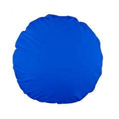 Azure Standard 15  Premium Flano Round Cushions by SimplyColor