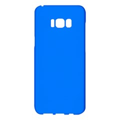 Azure Samsung Galaxy S8 Plus Hardshell Case  by SimplyColor