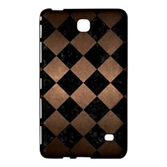 Square2 Black Marble & Bronze Metal Samsung Galaxy Tab 4 (8 ) Hardshell Case  by trendistuff