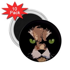Cat  2 25  Magnets (10 Pack)  by Valentinaart
