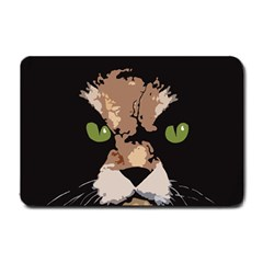 Cat  Small Doormat  by Valentinaart