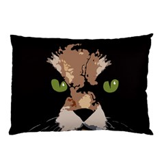 Cat  Pillow Case by Valentinaart