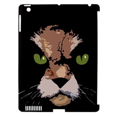 Cat  Apple Ipad 3/4 Hardshell Case (compatible With Smart Cover) by Valentinaart
