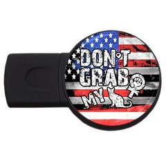 Dont Grab My Usb Flash Drive Round (4 Gb) by Valentinaart