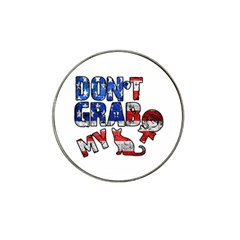 Dont Grab My Hat Clip Ball Marker (4 Pack)